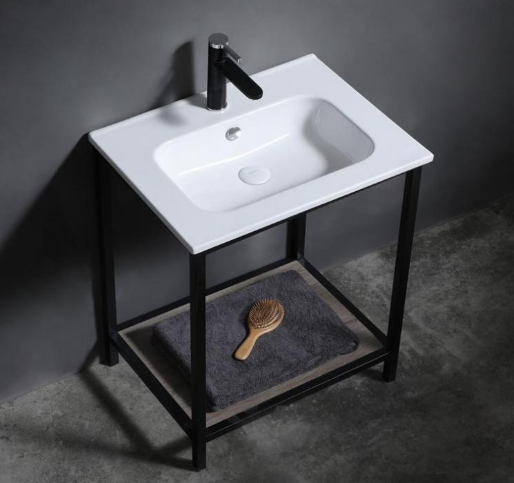 60cm Matt color bathroom sink for vanity and cabinet factory